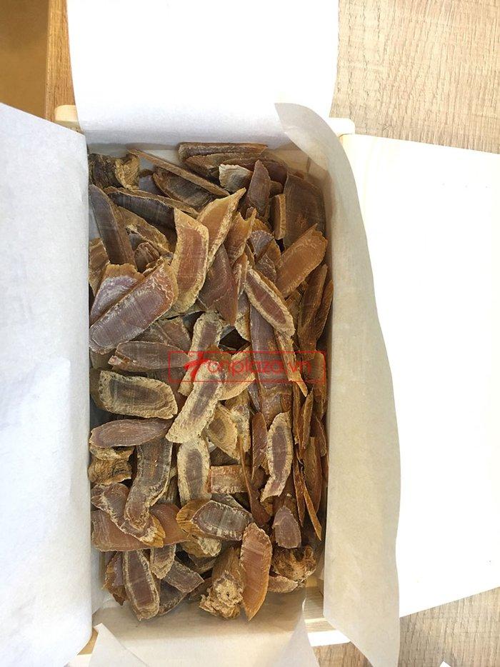 chi tiết bên trong sp hồng sâm củ khô cao cấp chính phủ kgc hộp thiếc 6
