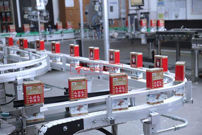 một sô hình ảnh trong quá trình chế biến và sản xuất hồng sâm chính phủ kgc hôp thiếc 5