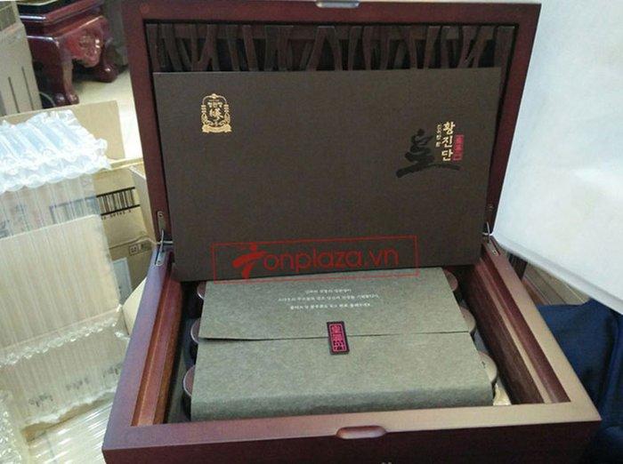 ảnh thực Hồng Sâm Linh Đan Cao Cấp Chính Phủ KGC (Cheong Kwan Jang ) hộp 30 viên NS656 1