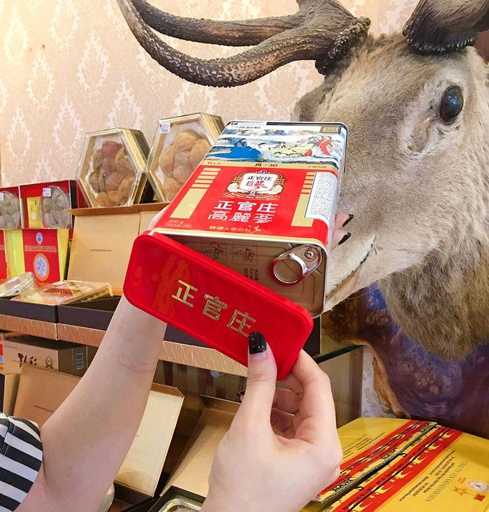 Hồng Sâm Củ Khô Cao Cấp Chính Phủ KGC (Cheong Kwan Jang) Hộp Thiếc 150g ( 10 củ )số 30 NS456 9