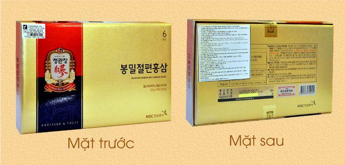 Hồng sâm tẩm mật ong cao cấp chính phủ KGC (Cheong Kwan Jang) hộp 120g NS659 2