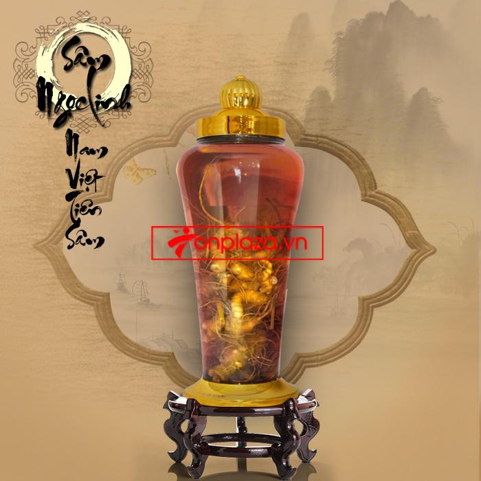 Bình sâm Ngọc Linh (3.8 lít) thượng hạng NS317