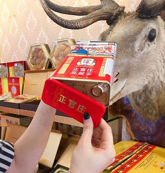 Hồng Sâm Củ Khô Cao Cấp Chính Phủ (Cheong Kwan Jang) KGC Hộp Thiếc 75g ( 5 củ ) số 30 NS457 11