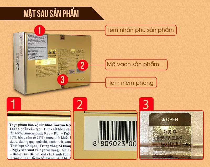 Nước Uống Hồng Sâm Trẻ Em Cao Cấp Chính Phủ KGC (Cheong Kwan Jang) Tonic Mild Hộp 30 Gói NS635 4