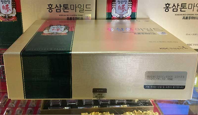 Nước Uống Hồng Sâm Trẻ Em Cao Cấp Chính Phủ KGC (Cheong Kwan Jang) Tonic Mild Hộp 30 Gói NS635 10
