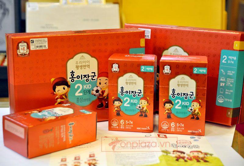 Nước hồng sâm trẻ em cao cấp KGC Cheong Kwan Jang Baby Tonic Step 2 cho bé 5-7 tuổi NS676 1