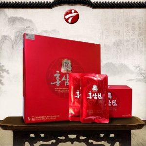Nước uống hồng sâm Chính phủ cao cấp KGC Cheong Kwan Jang hộp đỏ 30 gói NS712