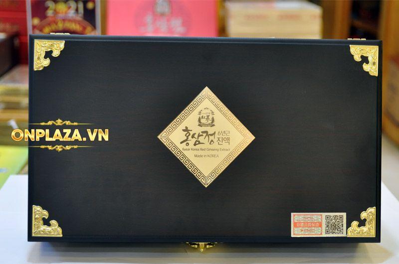 Cao hồng sâm Kanghwa cao cấp hộp gỗ quà biếu loại 4 lọ/hộp NS391 8