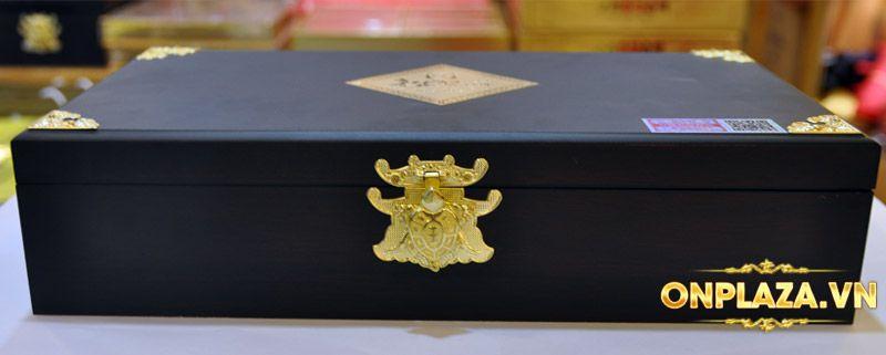 Cao hồng sâm Kanghwa cao cấp hộp gỗ quà biếu loại 4 lọ/hộp NS391 9
